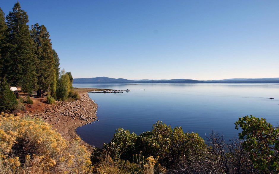 Lake Almanor CA, Butt Valley Reservoir and Upper Feather North Fork