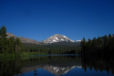 Manzanita Lake in Lassen Peak