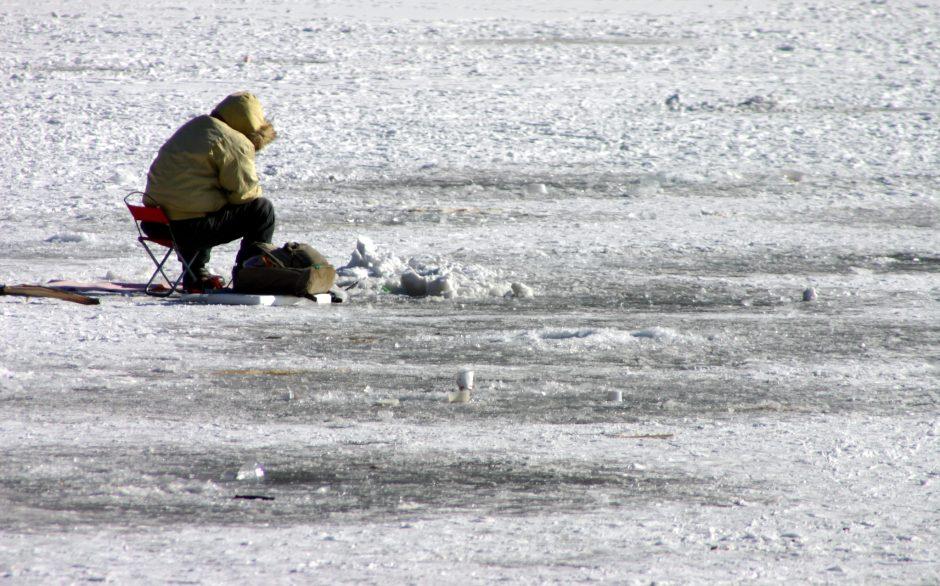 Ice Fishing in California
